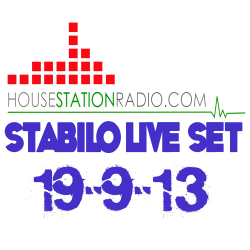 DJ Stabilo live housestationradio set 19-9-13