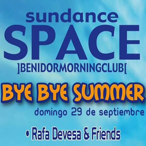 Space Benidorm Presents By Bye Summer 2013 By Rafa Devesa
