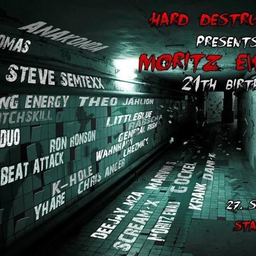 Gockel @ Hard Destruction pres. Moritz Ewald´s 21th Birthday