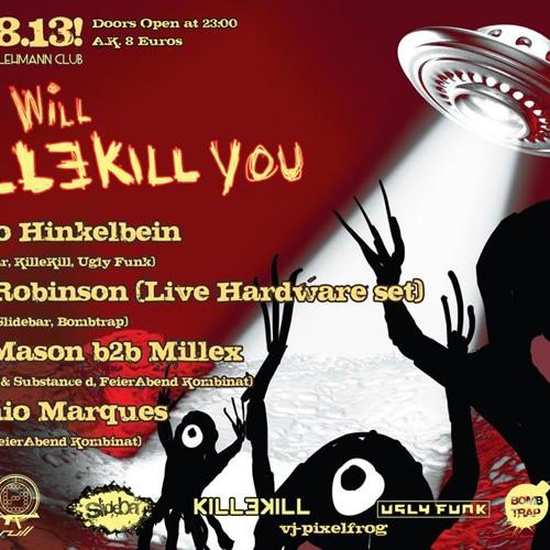 Hanno Hinkelbein & Antonio Marques - we will KillEkill yoU @FeierAbendKombinat/Lehmann 31.08.13_4/4