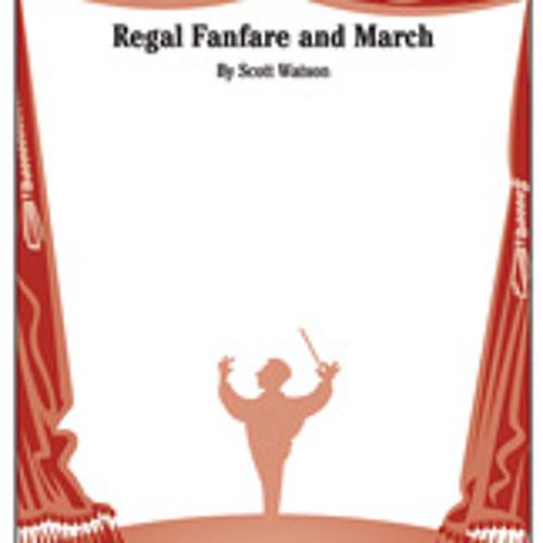 Regal Fanfare & March, with Trumpet Descants