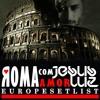 ROMA com AMOЯ (JESUS LUZ EUROPE SETLIST)