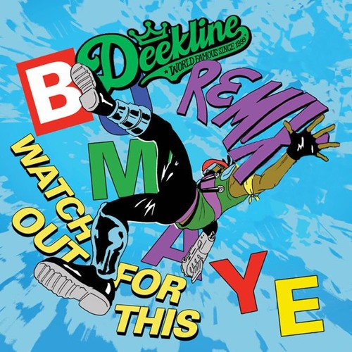 Major Lazer / Deekline 'Watch Out For This' ( Iva Re-Step )