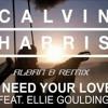 Calvin Harris ft Elie Goulding - I Need Your Love (Alban Berisha Remix)