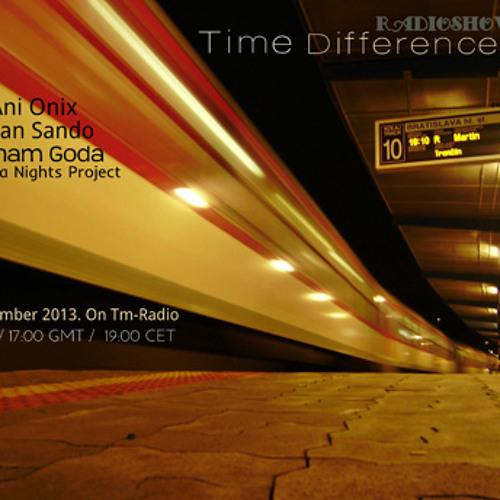 Ani Onix  - Time Differences 097 - [29.09.2013] - Tm - Radio