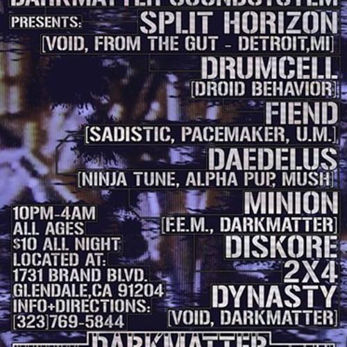 Fiend-Live Mix@DarkMatter-2007 - FREE DOWNLOAD