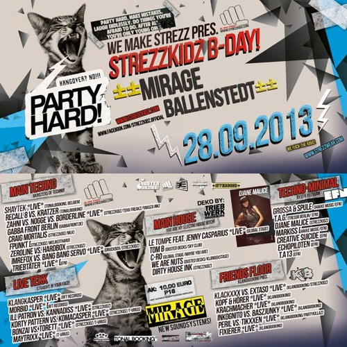 MIXED BY: T.A13 @ Mirage Ballensted 28.09.2013 Hangover NO! Party HARD
