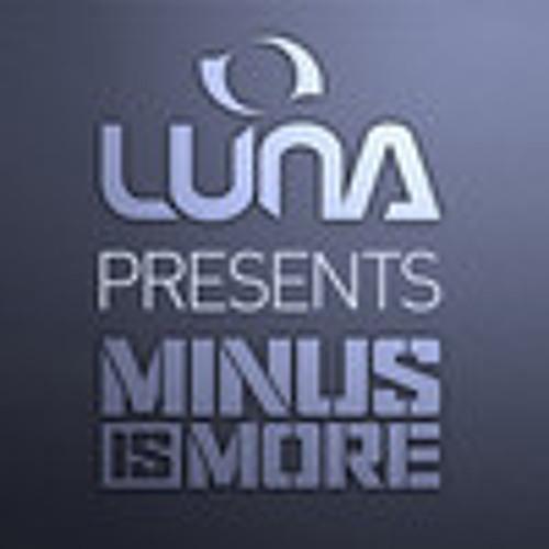Luna presents: Minus Is More - September 2013