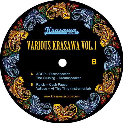 """V/A Krasawa vol.1  12"""" (clips)"""