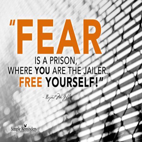Fear is a Choice! - Daily Word September 30, 2013