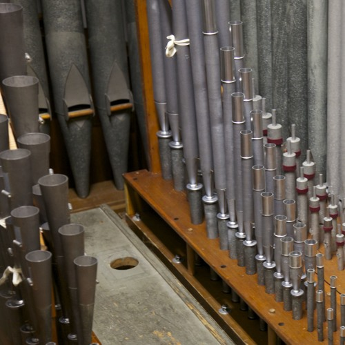 Mark Dwyer Demonstrated The Reeds At Our Lady Of Refuge as repaired by A.R. Schopp's Sons