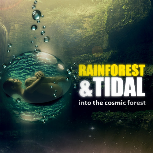Rainforest & Tidal - Into The Cosmic Forest ( Forthcoming Sacred Landscapes LP @ Soulridaz )