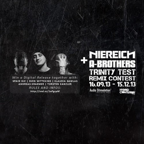 FREE DOWNLOAD Niereich & A - Brothers – Trinity Test (dj - BOOSTER Remix) Remix Contest