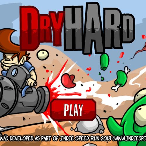 INDIE-SPEED-RUN - Dry Hard - Gameplay -