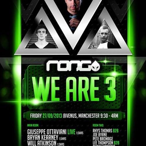 Bryan Kearney LIVE @ Rong Manchester September 2013