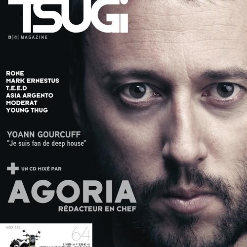 TSUGI summer issue 2013 Agoria cover mix cd