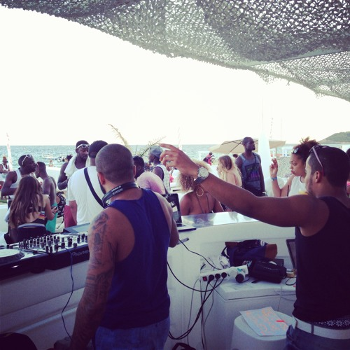 Lance Morgan Live @ Lips Beach Club #Ibiza 2013