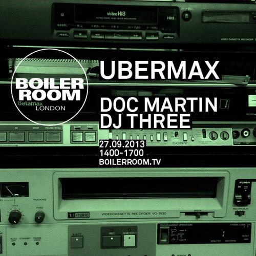 DJ Three 60 min Boiler Room mix