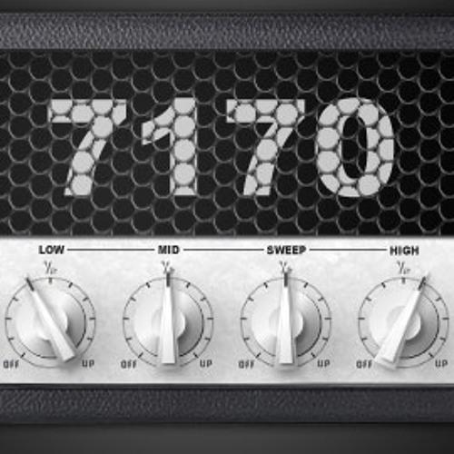 Nick Crow 7170 Lead virtual high gain amp - Metal tone test (free vst plugin)