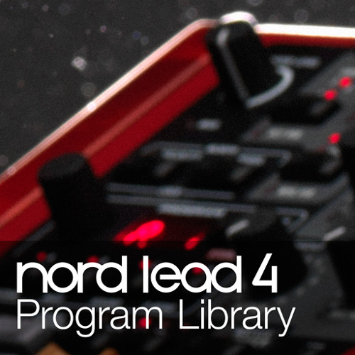 Nord Lead 4 Program Library
