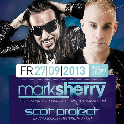 Mark Sherry LIVE @ Trance Mission (Four Runners, Germany - 27/09/13)