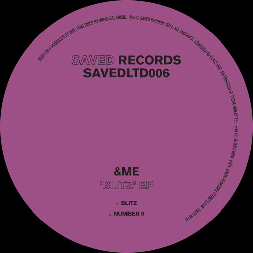 &ME - Number 9 (Saved Records)