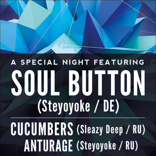 Soul Button - Soul Kitchen Club (St. Petersburg) - October 11th,2013