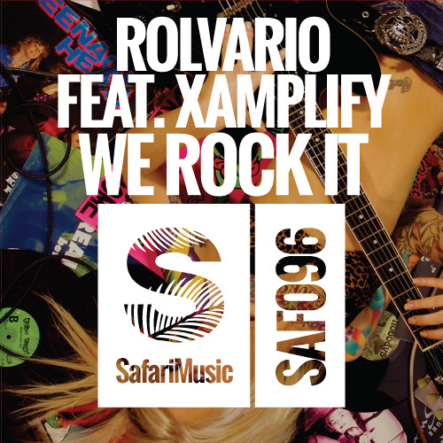 Rolvario Feat Xamplify - We Rockin It (Anthony Taratsas Remix) *OUT NOW* [SAFARI MUSIC]