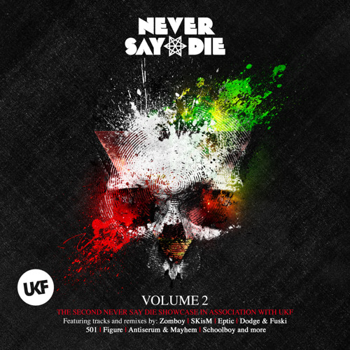 Never Say Die_UKF_Vol.2_Mixed By SKisM