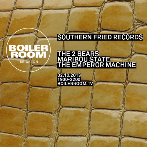 The 2 Bears 60 min Boiler Room mix