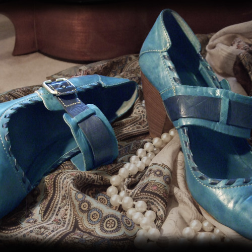 Our Blue suede shoes