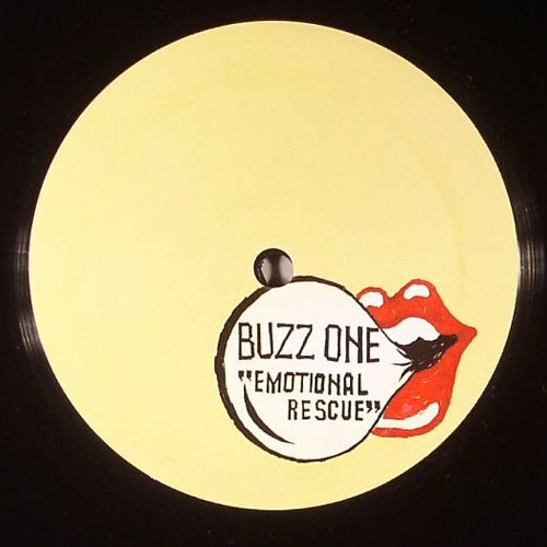 "Emotional Rescue (rework) 1-sided 12"" Limited 300 copies with no repress. Out now!"