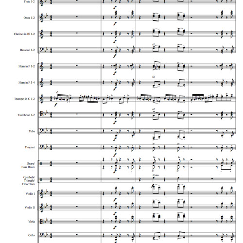 Rhapsody For Orchestra No. 1 Op. 2
