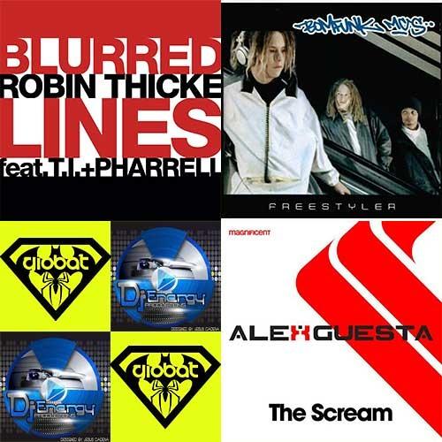 BomfunkMCs + RobinThicke + AlexGuesta - The Blurred Freestyle Scream (Djenergy & GiObAT Re-Mashed)