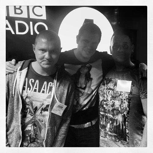 BBC RADIO 1 - Joey Riot & Kurt Powerstomp mix & interview on Kutskis show 20-9-13