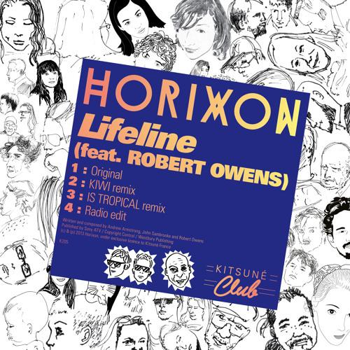 """Horixon - """"Lifeline"""" (feat. Robert Owens) EP Minimix"""