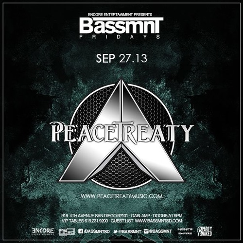 ResearChemicals Live @ Bassmnt 9/27/13