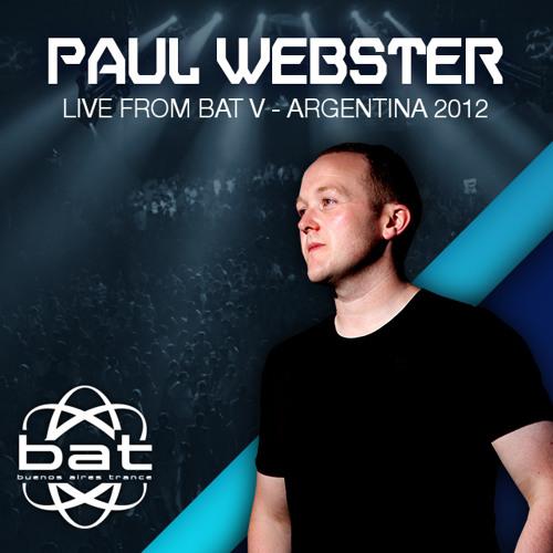 Paul Webster @ B.A.T - V Festival - Buenos Aires - Argentina