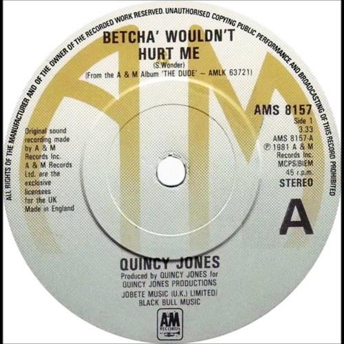 Quincy Jones ft. Pattie Austin -  Betcha' Wouldn't Hurt Me (C. Da Afro The 1000 Followers Edit