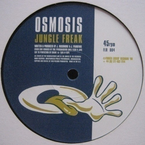 Osmosis - Jungle Freak - Skeewiff Remix