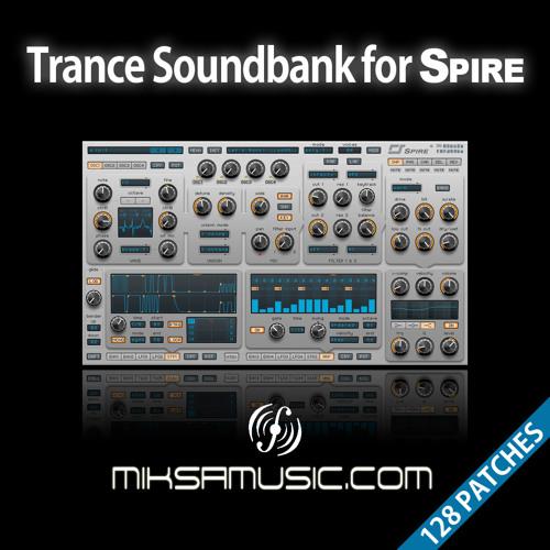 Trance Soundbank for Reveal Sound's Spire - miksamusic.com