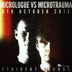 06.10.13 Micrologue vs Microtrauma @ Strident Sounds (FINAL SHOW) (320 kBits)