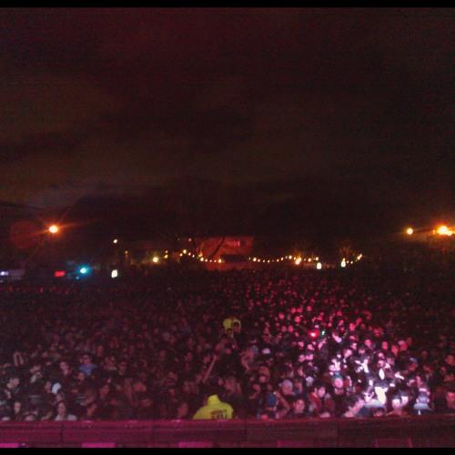 Gabriel Ferreira @ Items & Things night. Madarine Park, Buenos Aires 04.10.2013