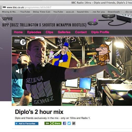 BBC Radio 1Xtra - Diplo's 2 Hour Mix - Sophie - BIPP (SwaggleRock Bootleg)