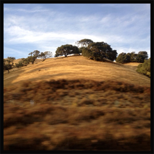 Rolling Through The Golden Hills (With rattling rolling tour bus - photo by Steve taken on bus)