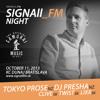 SIGNAll_FM NIGHT (11.10.2013) - Feature