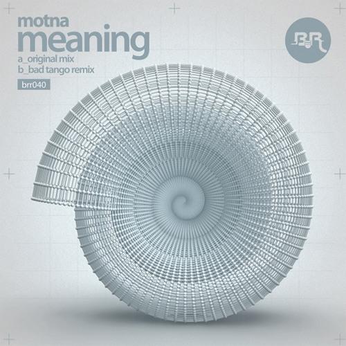 Motna - Meaning EP Promo Mix [Broken Robot]