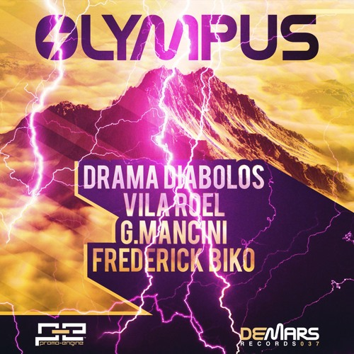 OLYMPUS - Drama Diabolos, Vila Roel, G.Mancini & Frederick Biko (DeMars Records) - OUT NOW ON BEATPORT