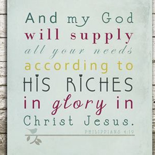 God's Supply - by TBM Missions