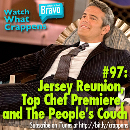 #97: Jersey Reunion, Top Chef Premiere, and The People's Couch